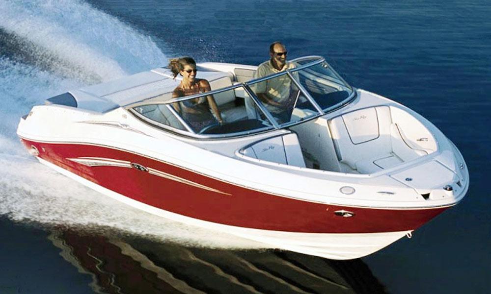 Sea Ray 230 boat rental at Garda lake