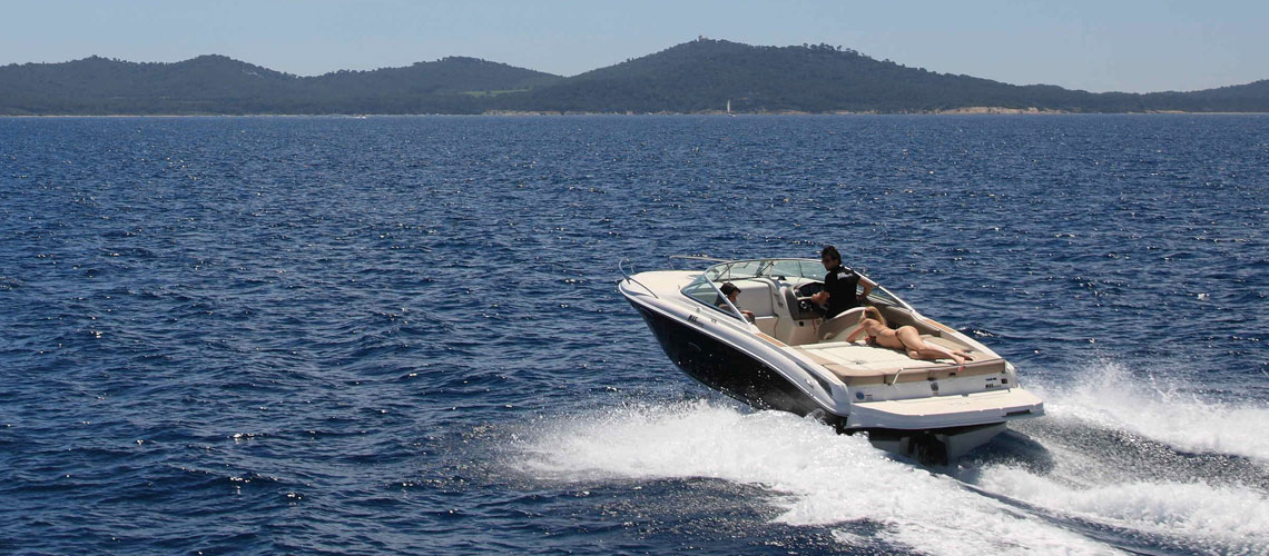 Motorbootverleih