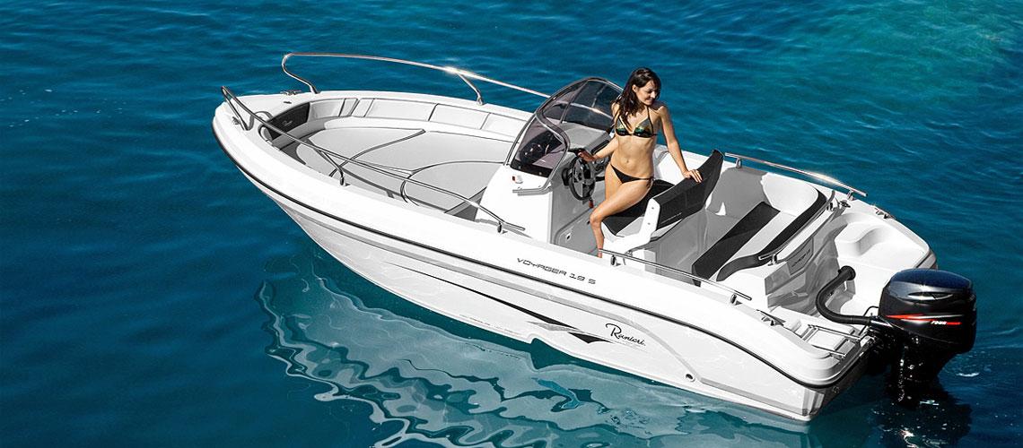 Boats to rent Lake Garda