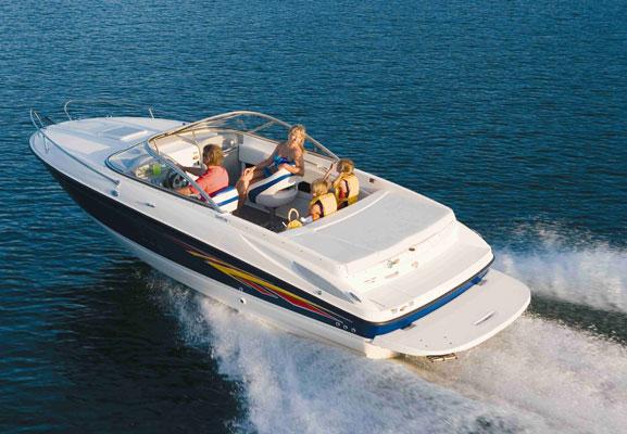 Motorboot zu vermieten am Gardasee